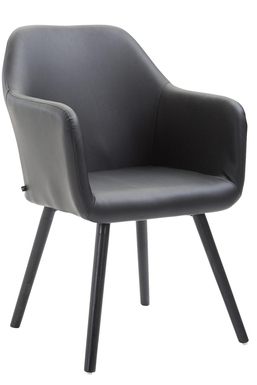 Stuhl Picard V2 Kunstleder Schwarz